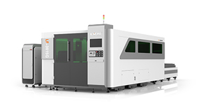LF3015G/4015G/20420G pallet changer with                                 protective panel fiber laser cutting machine
