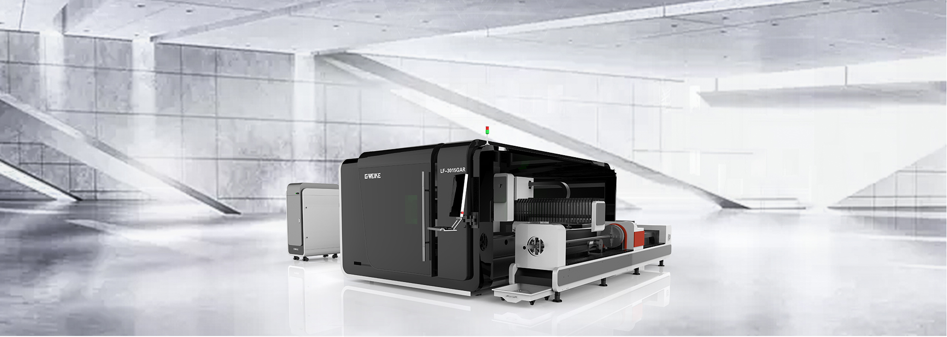 LF3015GAR WHOLE COVER FIBER LASER CUTTING MACHINE