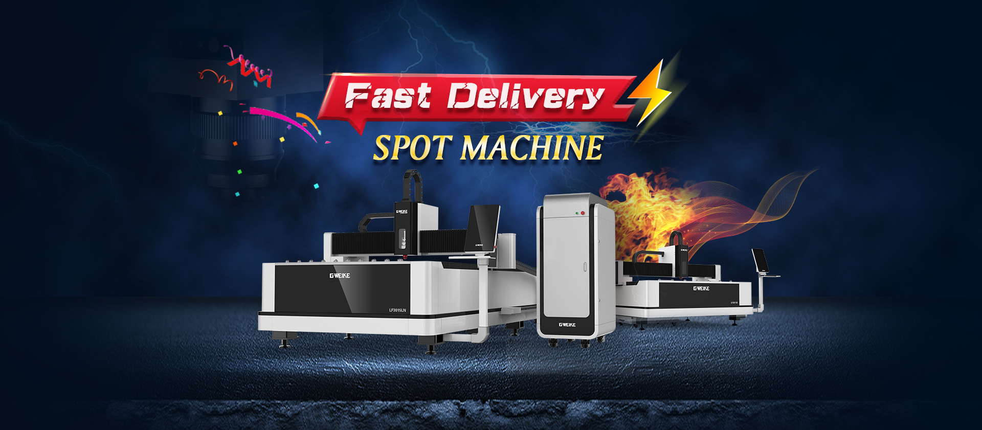 LF3015GA WHOLE COVER FIBER LASER CUTTING MACHINE